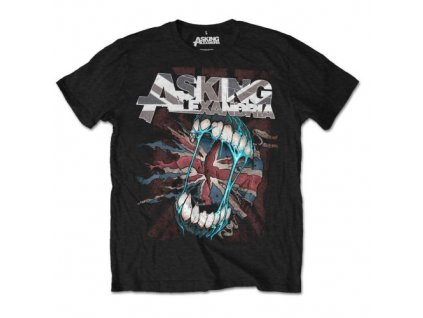 Pánske tričko Asking Alexadria Flag Eater (Veľkosť XXL)