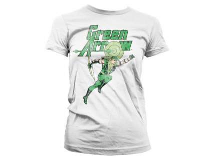 Dámske tričko Green Arrow Distressed