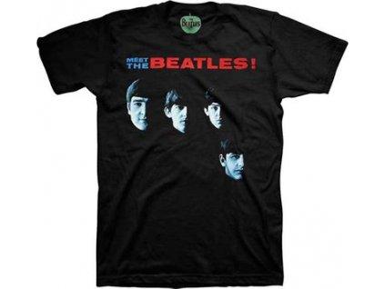 Pánske tričko The Beatles MEET THE BEATLES (Veľkosť XXL)