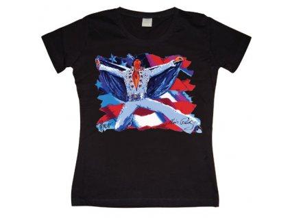 Elvis - Glory Hallelujah Girly T-shirt