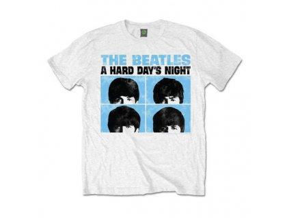 Pánske tričko The Beatles HARD DAYS NIGHT PASTEL (Veľkosť XXL)