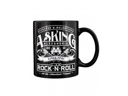 Hrnček Asking Alexandria Rock n' Roll