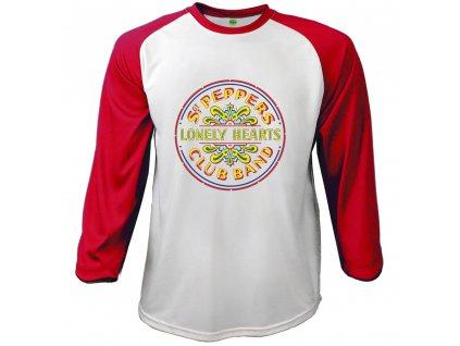 Pánske tričko s dlhým rukávom The Beatles SGT PEPPER (Veľkosť XXL)