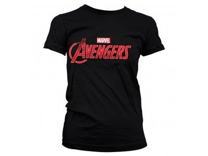 Dámske tričko Avengers Distressed Logo