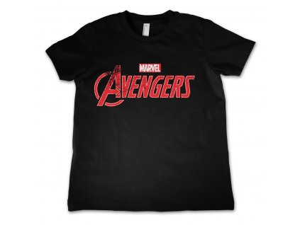 Detské tričko Avengers Distressed Logo