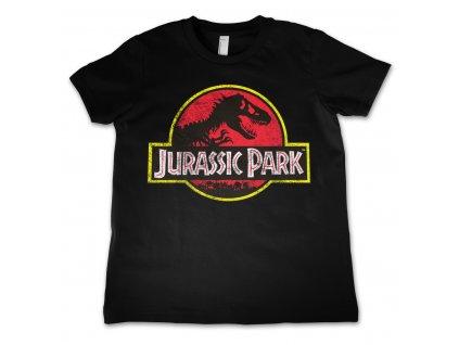 Detské tričko Jurassic Park Distressed Logo