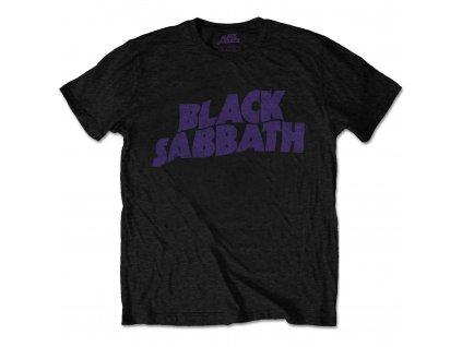 Pánske tričko Black Sabbath Flame Circle