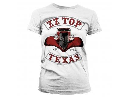 Dámske tričko ZZ Top - Texas 1962