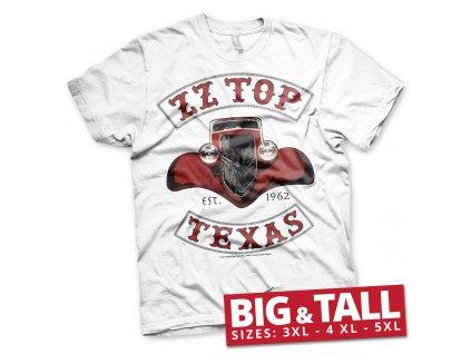 Pánske tričko ZZ Top Texas 1962 Big & Tall