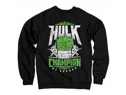 Pánska mikina Thor: Ragnarok - Hulk Champion Of Sakaar