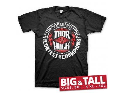 Pánske tričko Thor: Ragnarok - Contest Of Champions Big & Tall