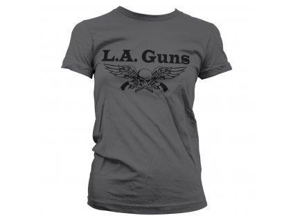 Dámske tričko L.A. Guns Black Logo