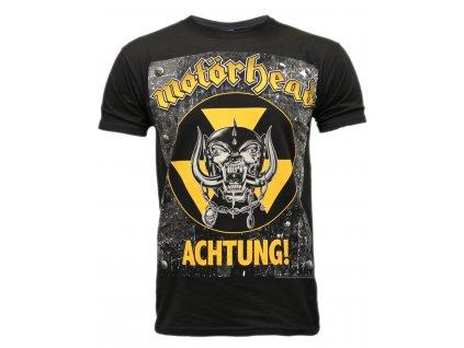 Pánske tričko Motörhead ACHTUNG (Veľkosť XXL)