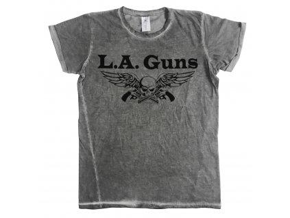 Pánske tričko L.A. Guns Black Logo Urban