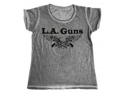 Dámske tričko L.A. Guns Black Logo Urban