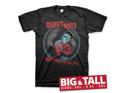 Pánske tričko Quiet Riot Metal Health Big & Tall