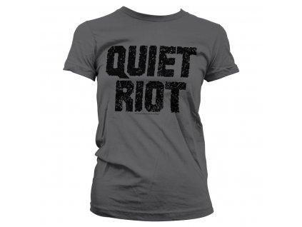 Dámske tričko Quiet Riot Logo