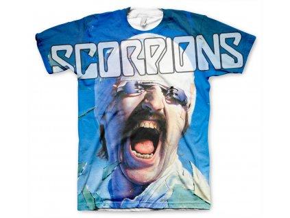 Pánske tričko Scorpions Allover