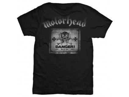 Pánske tričko Motörhead Danger (Veľkosť XXL)