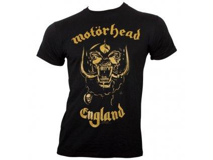 Pánske tričko Motörhead England Classic Gold (Veľkosť XXL)