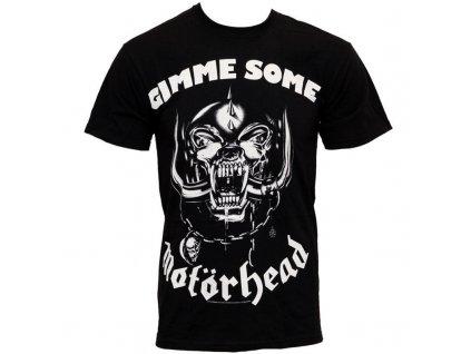 Pánske tričko Motörhead Gimme (Veľkosť XXL)