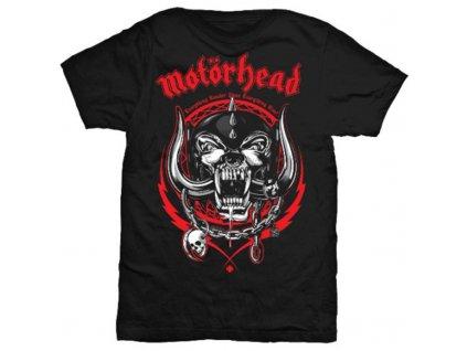 Pánske tričko Motörhead Lightning Wreath (Veľkosť XXL)