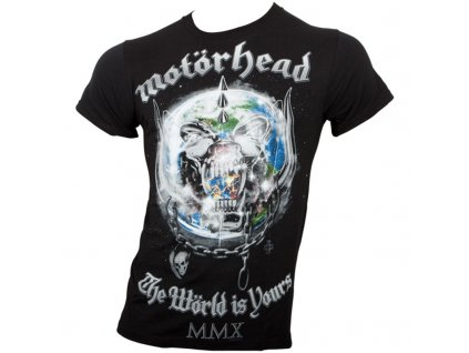 Pánske tričko Motörhead The World is your Album (Veľkosť XXL)