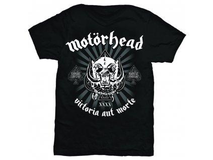 Pánske tričko Motörhead Victoria Aut Morte (Veľkosť XXL)