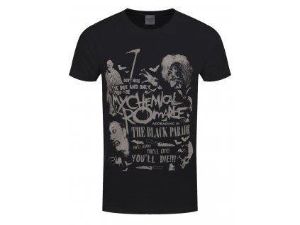 Pánske tričko My Chemical Romance SCARY