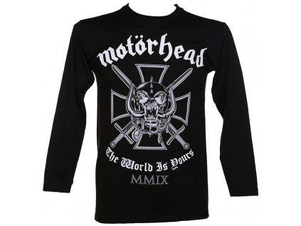 Pánske tričko s dlhým rukávom Motörhead (Veľkosť XXL)