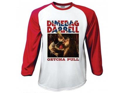 Pánske tričko s dlhým rúkavom Dimebag (Veľkosť XL)