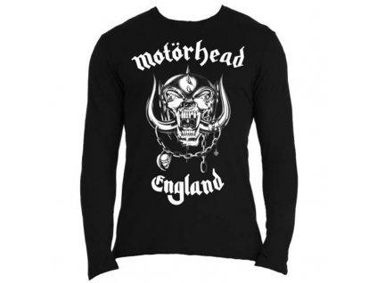 Pánske tričko s dlhým rukávom Motörhead ENGLAND (Veľkosť XXL)