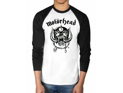 Pánske tričko s dlhým rukávom Motörhead Classic (Veľkosť XXL)