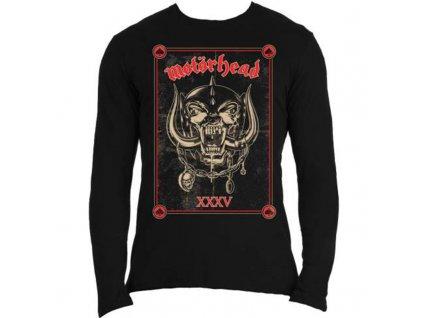 Pánske tričko s dlhým rukávom Motörhead Propaganda Anniversary (Veľkosť XXL)