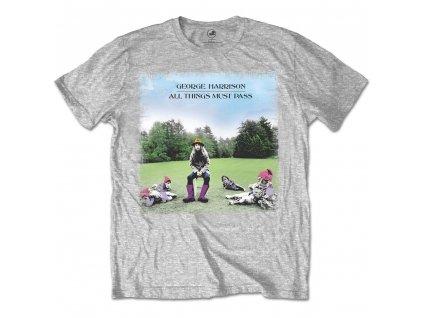 Pánske tričko George Harrison All things must pass (Veľkosť XXL)