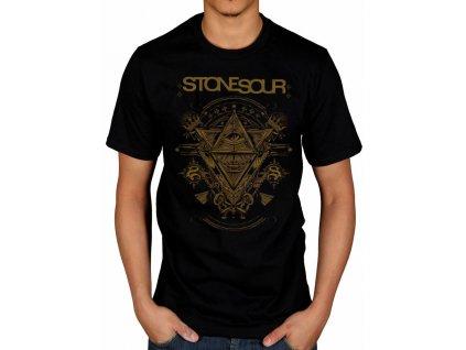 Pánske tričko Stone Sour (Veľkosť XXL)