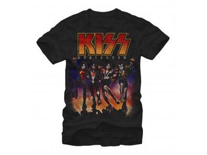 Pánske tričko Kiss Destroyer (Veľkosť XXL)