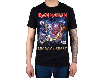 Pánske tričko Iron Maiden LEGACY OF THE BEAST (Veľkosť XL)