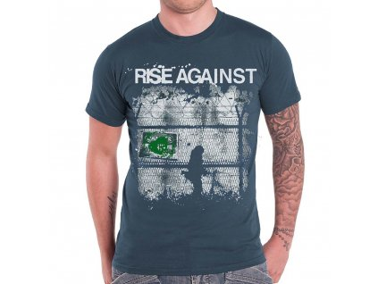 Pánske tričko Rise Against Border (Veľkosť XXL)