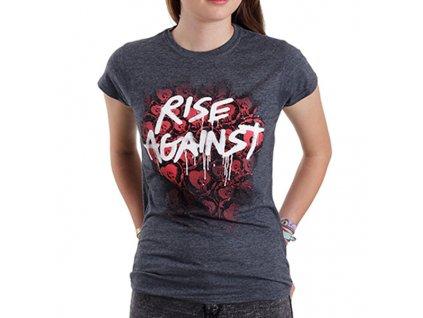 Dámske tričko Rise Against (Veľkosť XL)