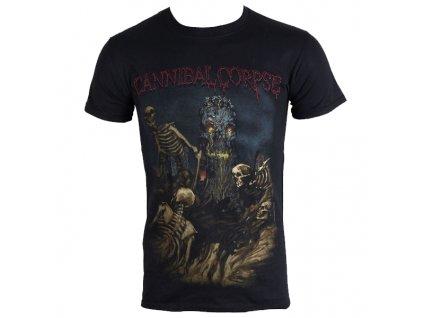 Pánske tričko Cannibal Corpse Skeletal Domain (Veľkosť XXL)