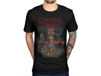 Pánske tričko Cannibal Corpse A Skeletal Domain (Veľkosť XXL)