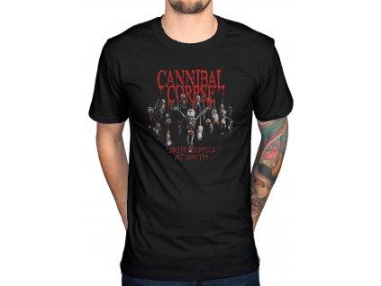 Pánske tričko Cannibal Corpse Butchered At Birth (Veľkosť XL)