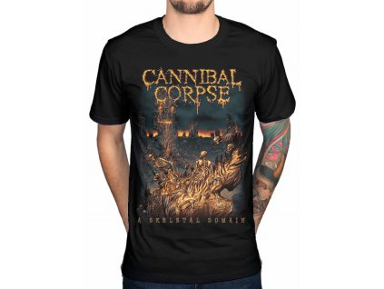 Tričko Cannibal Corpse Skeletal (Veľkosť XXL)
