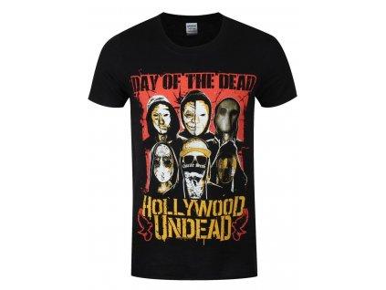 Pánske tričko Hollywood Undead Dotd Faces (Veľkosť XXL)