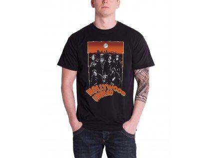 Pánske tričko Hollywood Undead Full Moon (Veľkosť XL)