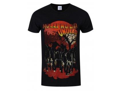Pánske tričko Hollywood Undead Faceless Horror (Veľkosť XL)