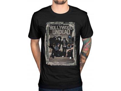Pánske tričko Hollywood Undead Cement Photo (Veľkosť XL)