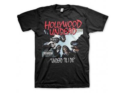 Pánske tričko Hollywood Undead Classic (Veľkosť XXL)