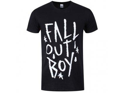Pánske tričko Fall Out Boy Star (Veľkosť XL)